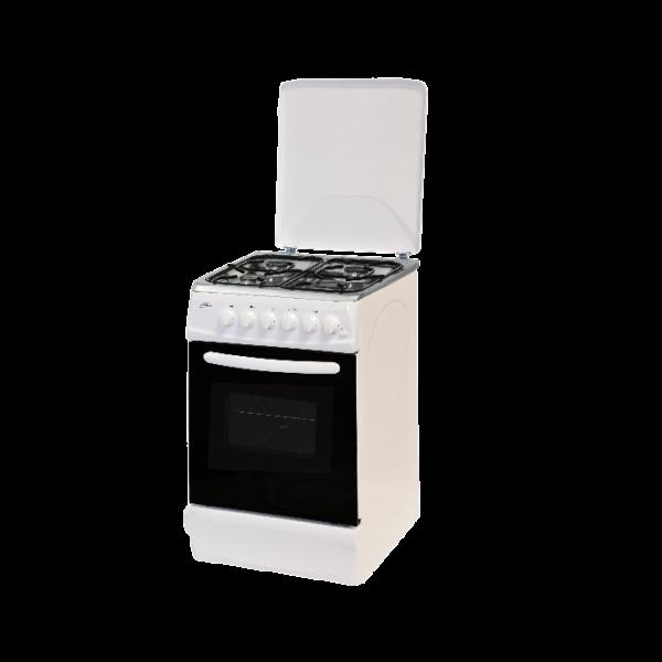 Cuisiniere A Gaz 50 Cm Avec Plaque En Inox